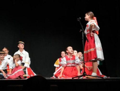 Detský folklórny súbor Jánošík v Kysáči