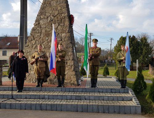 Spomienkové slávnosti pri príležitostí 75. výročia oslobodenia Kamenice nad Cirochou