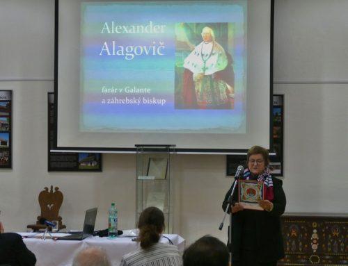 Odkaz Alexandra Alagoviča pre súčasnú Galantu, a nielen pre ňu
