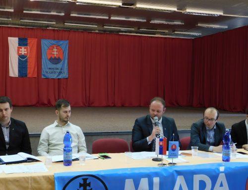 11. Valné zhromaždenie Mladej Matice sa konalo v Košiciach