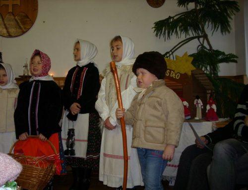 Vianočné spevy detské aseniorské