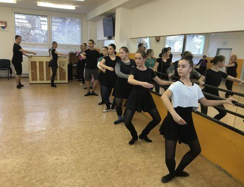 Workshop klasického tanca v Humennom