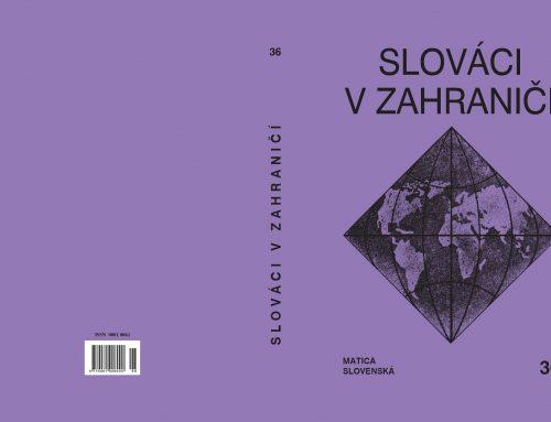 Vyšiel 36. ročník zborníka Slováci v zahraničí