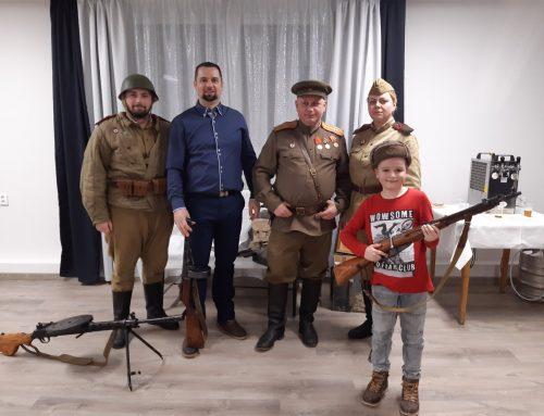 Oslavy 75. výročia oslobodenia obce Merník