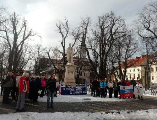 Spomienková slávnosť – 27. výročie samostatnosti Slovenskej republiky