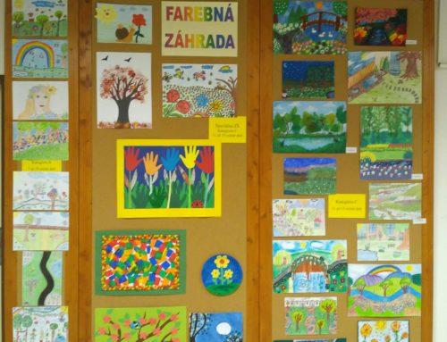 Farebná záhrada – otvorenie výstavy Okresnej výtvarnej súťaže prác detí