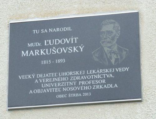 Pripomíname si 205. výročie narodenia doktora Markušovského