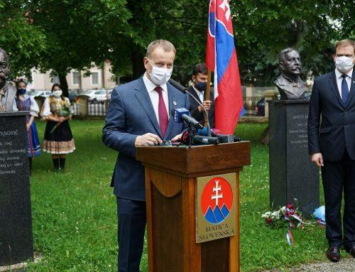 Predseda Národnej rady SR Boris Kollár navštívil Maticu slovenskú