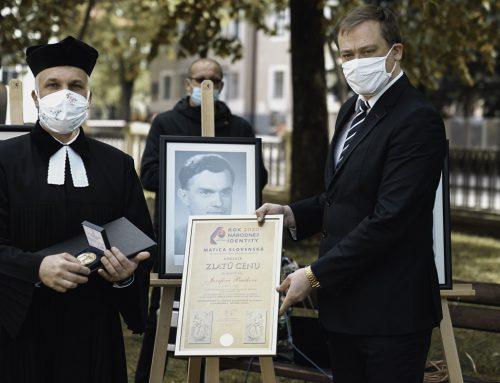 Matičiari padlí v druhej svetovej vojne získali Zlatú cenu Matice slovenskej in memoriam