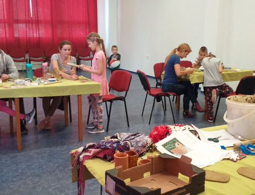 S deťmi pokračujeme – na kurzoch keramiky