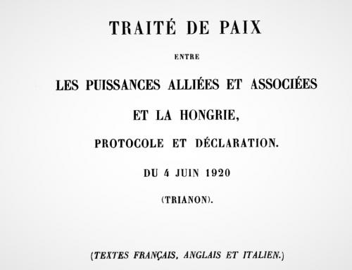 Sté výročie Trianonu je príležitosťou na vzájomné pochopenie