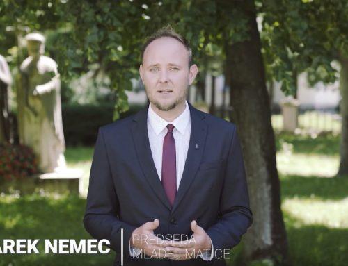 Mladá Matica vyzýva ľudí, aby zahodili predsudky voči Matici slovenskej / reakcia na mediálnu antikampaň