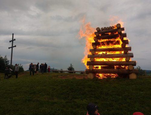 Vatra Ústavy v tomto  roku… len symbolicky