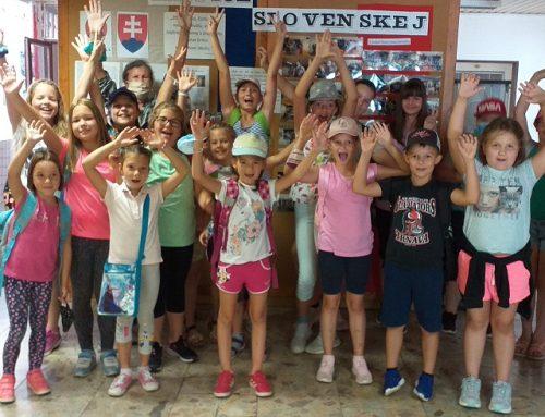 Letné exkurzie detí – v Keramickej dielni Domu MS Galanta