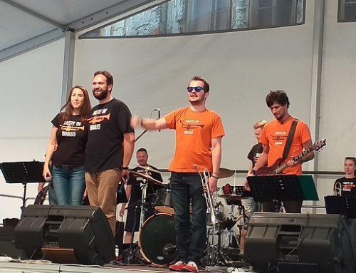 Piatkový koncert na nádvorí kaštieľa v Galante