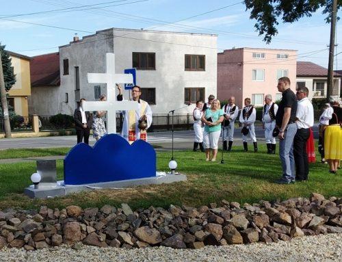 Výročie založenia MO MS Benkovce – obnova dvojkríža