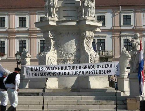 Symbol vzájomnej matičnej spolupráce: Chorvátsky Osijek, Čakajovce, Janíkovce a Dražovce