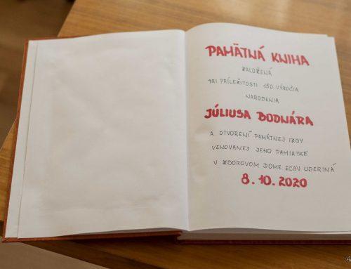 150. výročie narodenia významného rodáka z Novohradu Júliusa Bodnára
