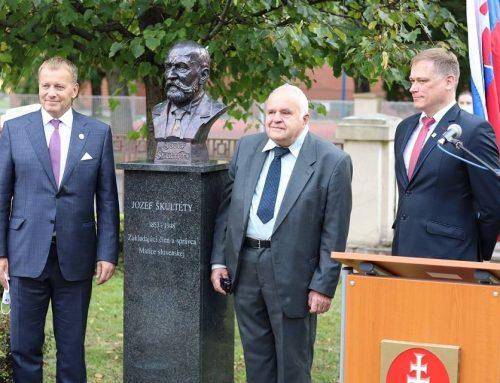 Matičiari z Považskej Bystrice sa zúčastnili odhalenia busty Jozefa Škultétyho v Martine