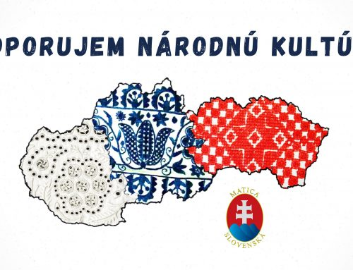 Podporte národnú kultúru kúpou knihy, členstvom aj krojom