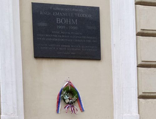 Zabudnutý bojovník za práva Slovákov – Emanuel Teodor Böhm