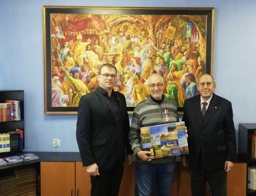 Ocenený dlhoročný matičiar Pavel Fábry