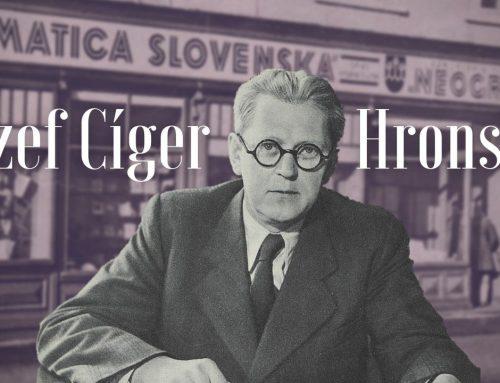VIDEO: Jozefa Cígera Hronského si pripomíname ako prvého slovenského manažéra kultúry