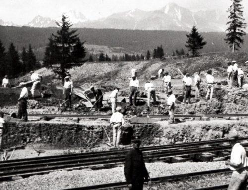 Pavel Tomko a prestavba stanice v Štrbe