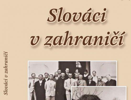 Ročenka Slováci v zahraničí 37 verná kvalitnému obsahu v novom grafickom prevedení
