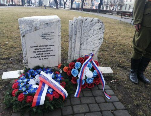 Matica slovenská si v Spišskej Novej Vsi pripomenula 82. výročie Malej vojny z marca 1939