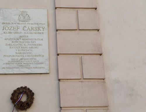 Jozef Čársky – 135. výročie narodenia