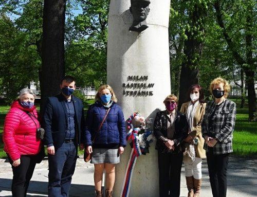 Trenčania si  pripomenuli 102. výročie tragickej smrti generála Milana Rastislava Štefánika