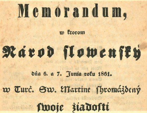 Memorandum národa slovenského