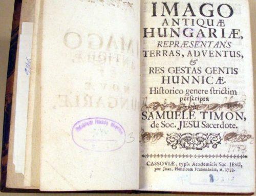 Samuel Timon – nevšedný slovenský historik