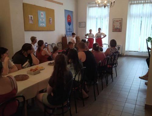 Návšteva Slovákov zo Sámsonházy v Lučenci