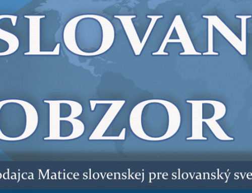 Slovanský obzor, nové matičné periodikum stmeľujúce aktuálne horizonty slovanského sveta