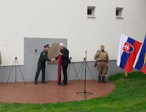 Odhalenie pamätníka v Budimíri