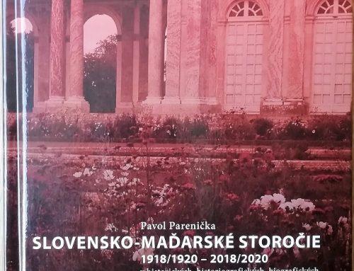 Matica slovenská vydala monografiu o vzťahoch Slovákov a Maďarov za posledné storočie